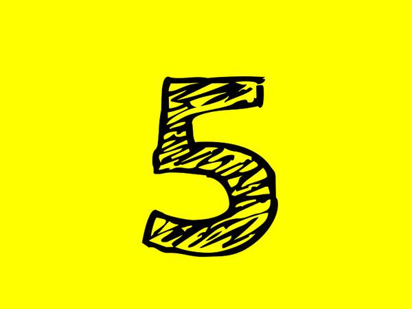 Hvad er betydningen af nummer fem i numerologi?