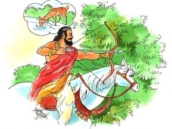 श्राप राजा दशरथमा रामायणमा