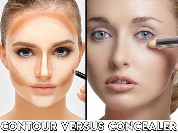 Contour Versus Concealer - Basics, du skal bemærke