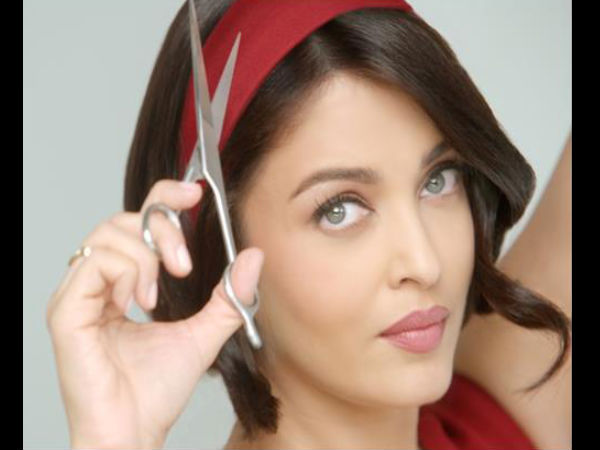 Aishwarya Rai jaunā Boba frizūra komerciālai lietošanai