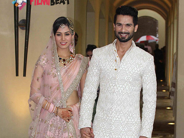 Fotos de casament de Shahid Kapoor i Mira Rajput