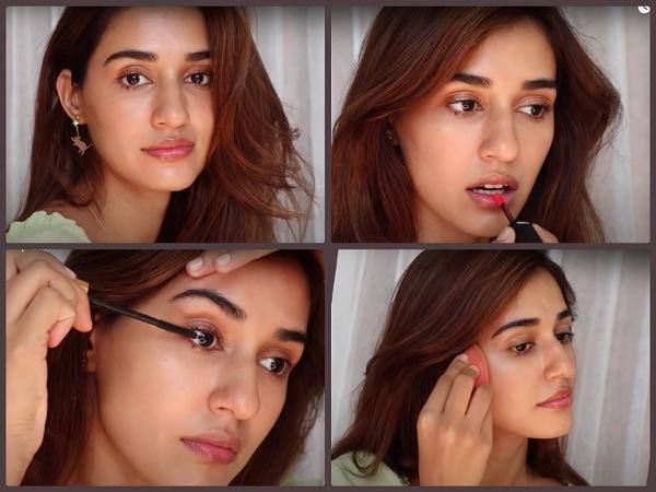 Disha Patani comparteix el seu vídeo de tutorial de maquillatge Dewy fresc i brillant a YouTube i és molt útil.