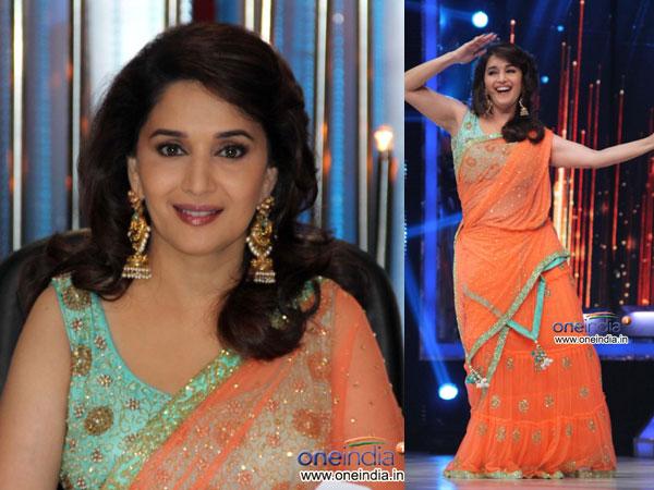 Desain Blus Saree Terbaik Madhuri Dixit