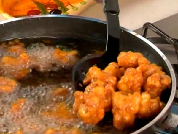 Veg Starter: Receita de frito seco Chilli Gobi