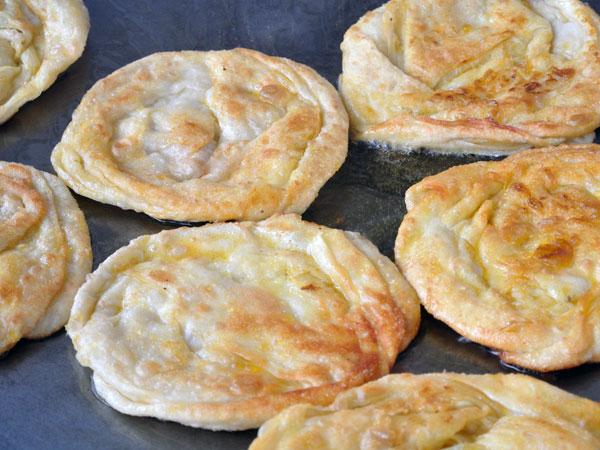 Mäkký recept Kerala Paratha