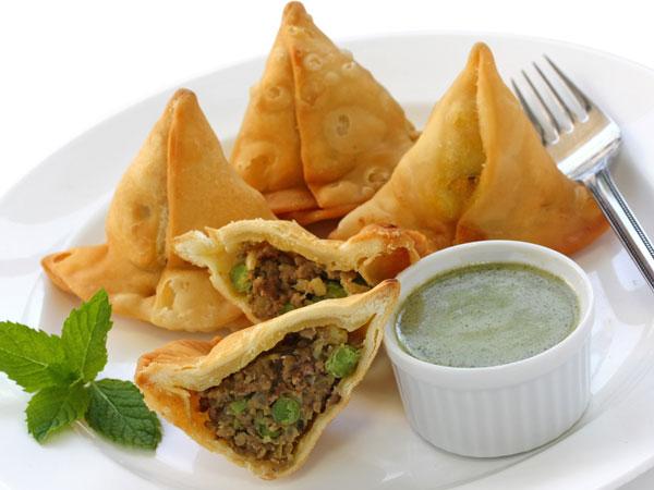 М'ясна самоса: легкі закуски Рамзан
