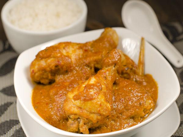 मसालेदार सरसों चिकन करी रेसिपी