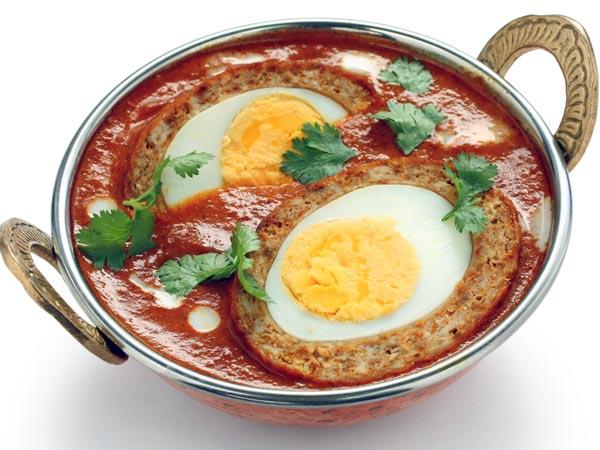 وصفة كاري بيض على طريقة شيتيناد