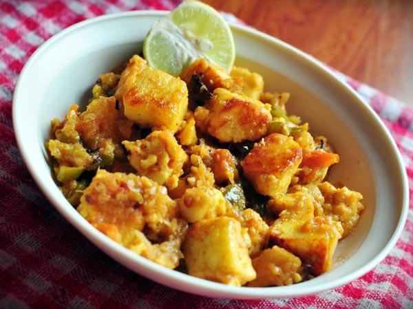 Zdravi Paneer Manchurian Recept
