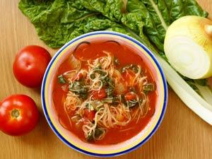 स्टिक: तिब्बती टमाटर सूप पकाने की विधि