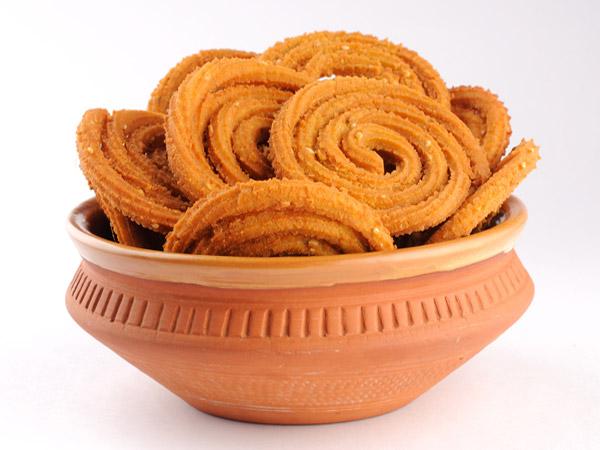 Παραδοσιακή συνταγή Bhajani Chakli για Diwali
