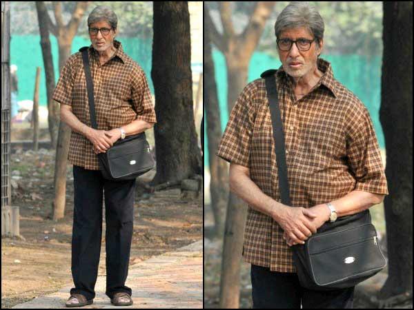 मूवी टीन में एक सब नया अमिताभ बच्चन, अपनी चेक शर्ट देखें!