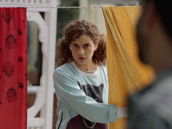 Ормар Кангане Ранаут у Јудгементалл-у Хаи Киа је необичан као и њен лик у филму