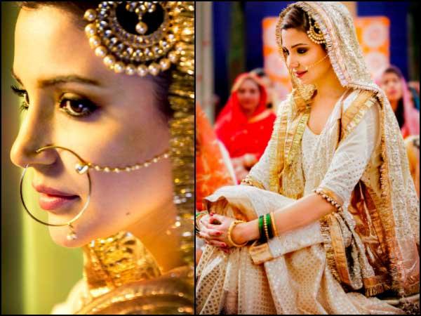 Простите, но красиви погледи на Анушка Шарма от Султан като Арфа