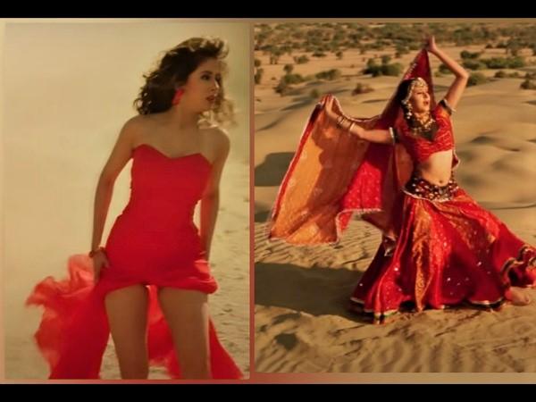 25 साल की रंगीला पर, उर्मिला मातोंडकर की फिल्म के गीतों से बहुत बढ़िया आउटफिट्स का विमोचन हुआ