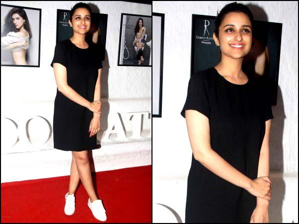 Celebrity Wardrobe Clash: Kriti Sanon σε εκτύπωση ή Parineeti σε μαύρο;