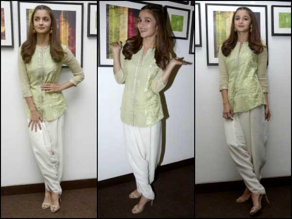 Це те, що носила Алія Бхатт на акціях Kapoor & Sons!