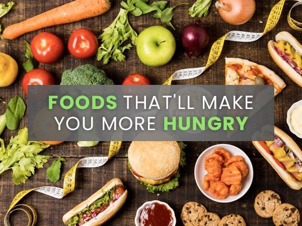 Сва храна која вас чини гладнијом након што их поједете!