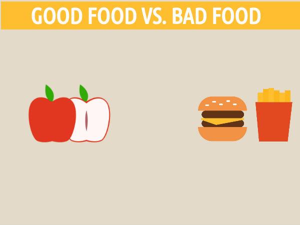 राम्रो खाना के हो? खराब खाना के हो?