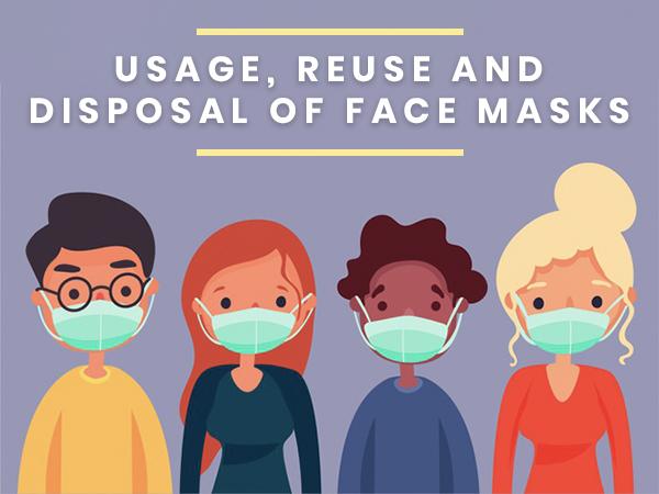 COVID-19: Korrekt brug, genbrug og bortskaffelse af masker, verificeret af eksperter