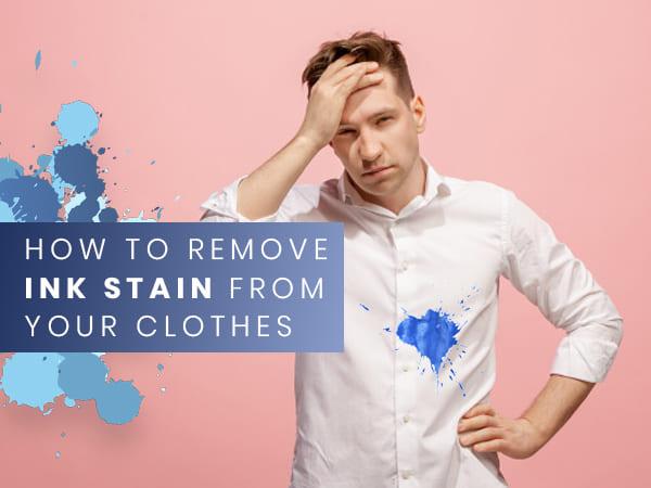 7 მარტივი და მარტივი გზა ტანსაცმელიდან მელნის ლაქების მოსაშორებლად