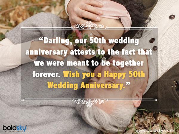 Цитати, побажання та повідомлення, якими можна поділитися до 50-ї річниці весілля