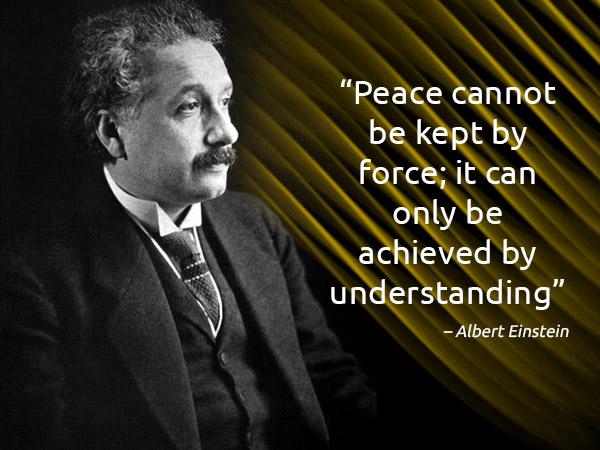अंतर्राष्ट्रीय शांति दिवस 2019: प्रसिद्ध लोगों द्वारा शांति के बारे में 10 महान उद्धरण