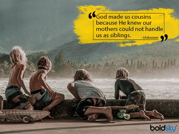 राष्ट्रिय चचेरे भाई दिवस २०१:: सर्वश्रेष्ठ भान्जा भाइहरूले तपाईंलाई उदासीन बनाउनको लागि उद्धरण