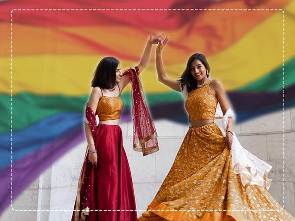 Parella do mesmo sexo da India e Paquistán emenda todas as barreiras, gaña corazóns