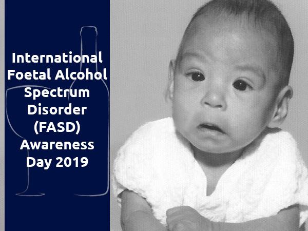 Mednarodni dan ozaveščenosti o fetalnem alkoholnem spektru (FASD) 2019 - pomen