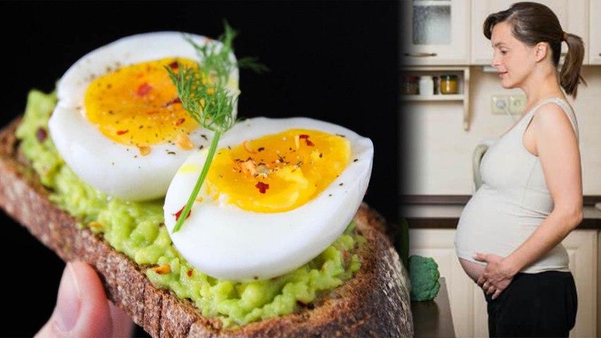 6 Prednosti uživanja jajc med nosečnostjo