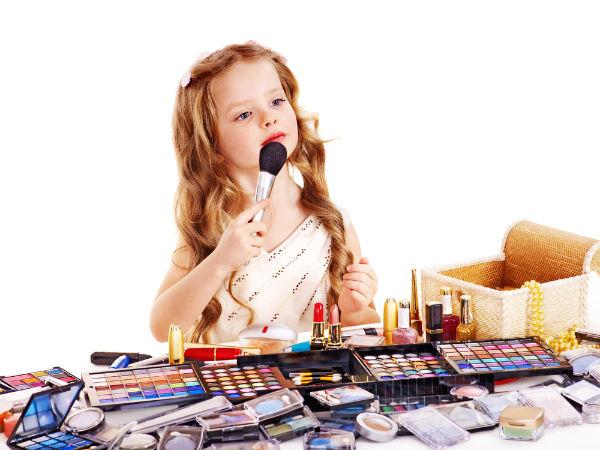 Les enfants devraient-ils se maquiller?
