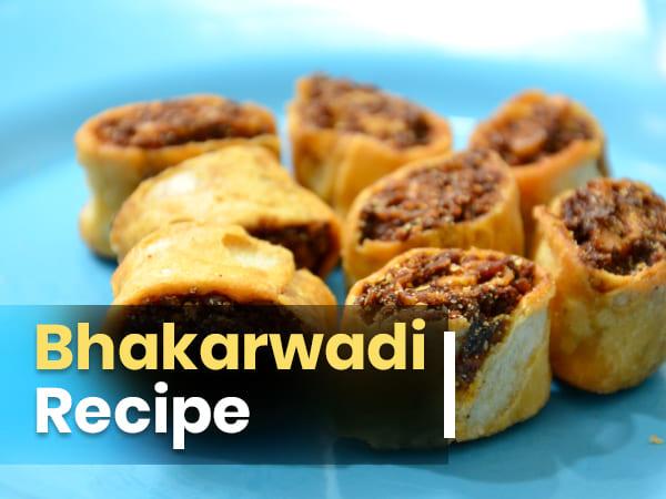 Зробити рецепт Bhakarwadi для вечірніх закусок легко