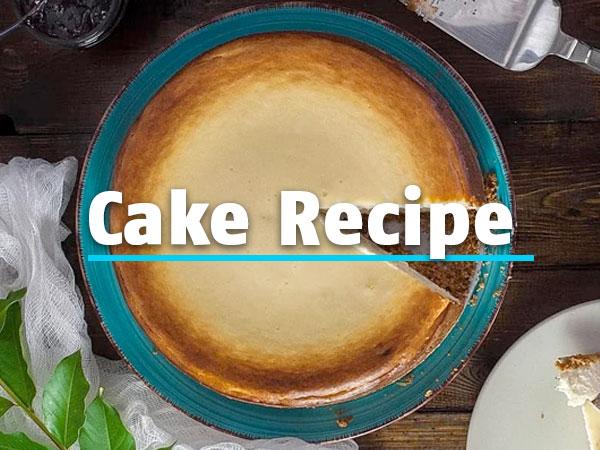 Ψήστε το κέικ σας στην κουζίνα με πίεση με αυτή τη συνταγή