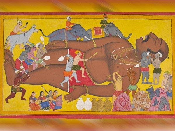 ၉ သင်မသိနိုင်သော Kumbhakarna နှင့်ပတ်သက်သောအချက်အလက်