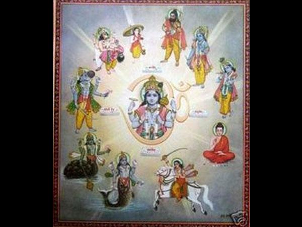 Дашаватар - 10 Вишнуа хиндуистичког Бога Аватара