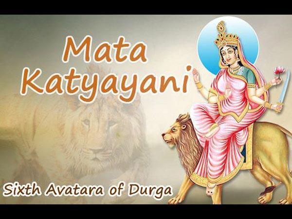 Tilbe gudinde Katyayani for ægteskabsproblemer